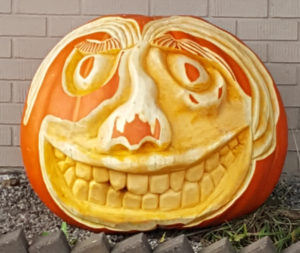 Carved by Ed the Pumpkin Carver